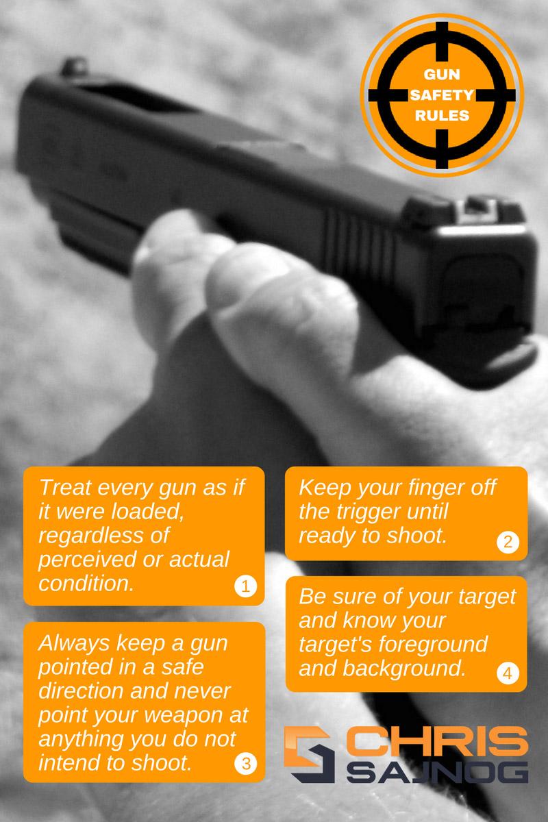4 gun safety rules