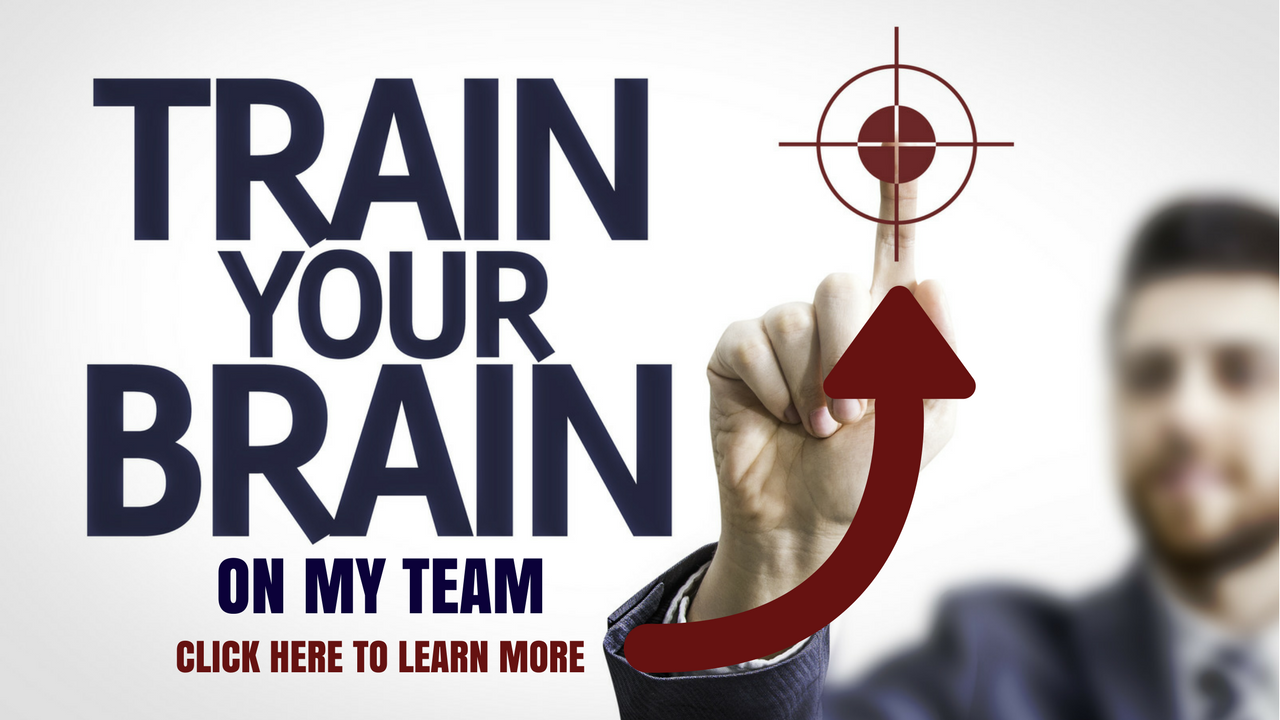Train your brain JOIN THE TEAM