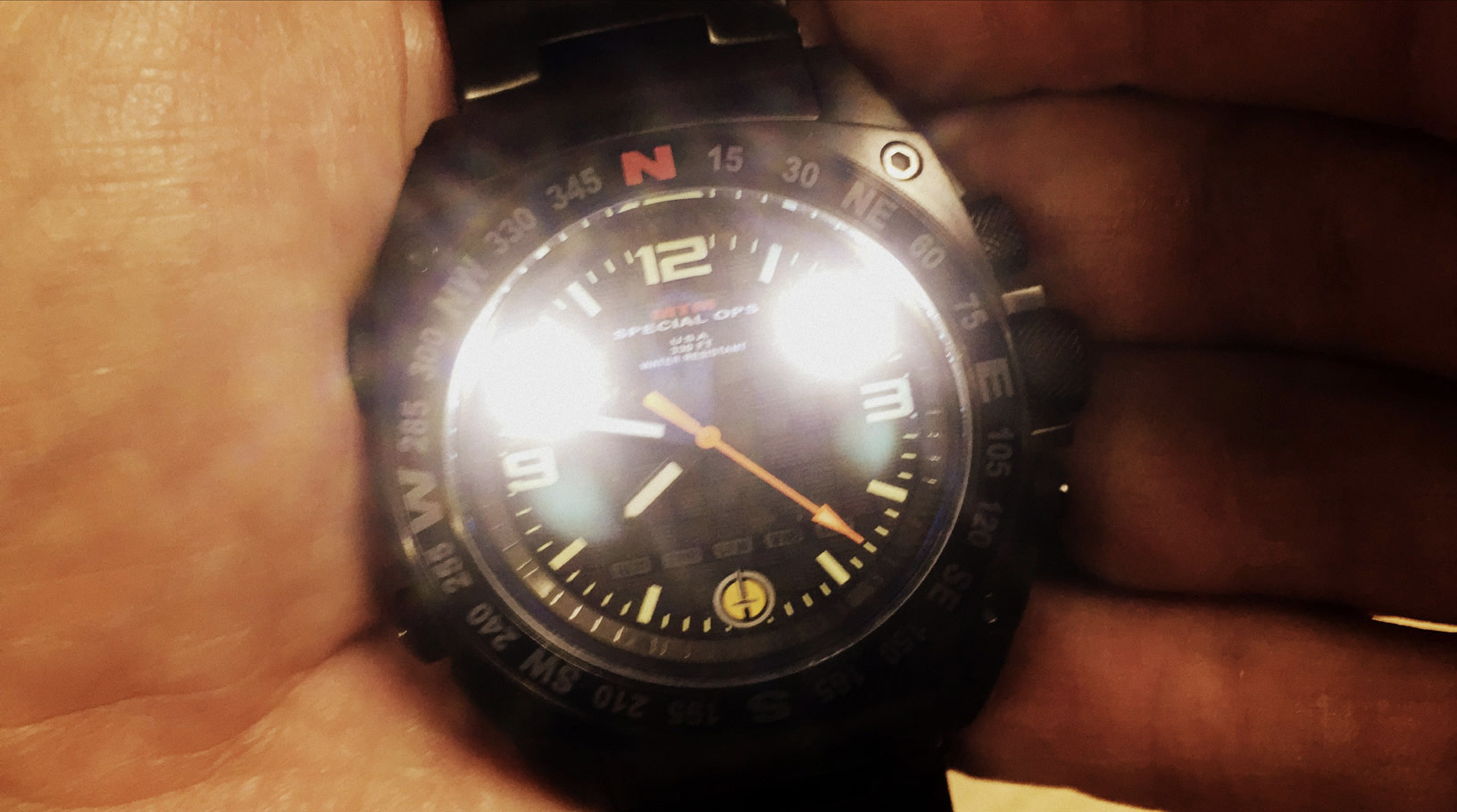 MTM Special Ops Silencer Watch, Multi-Mode Lighting System